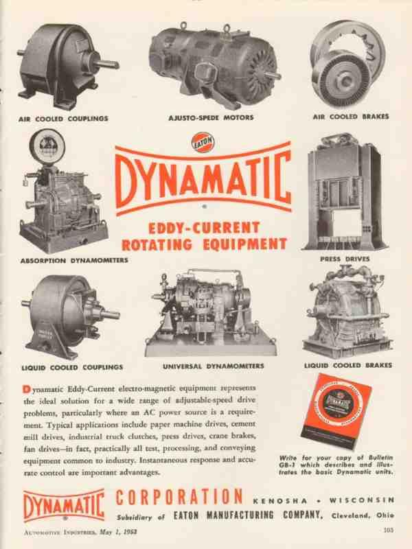 Dynamatic products